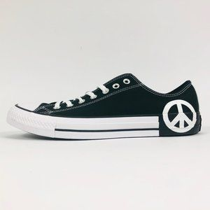 Converse All Star Ox 165769F Black White 11.5